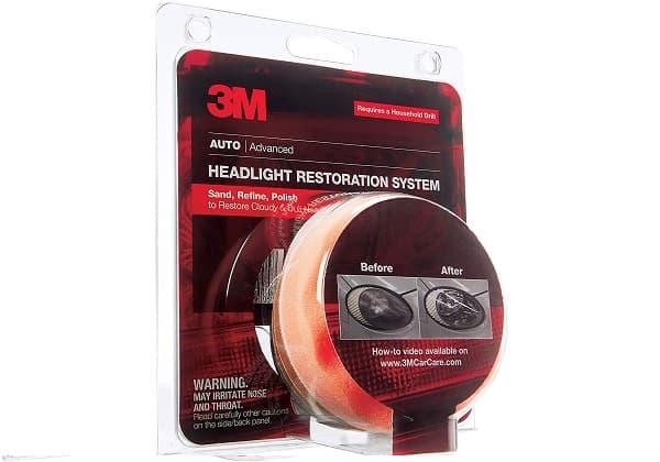 3M Heavy Duty Headlight Restoration
