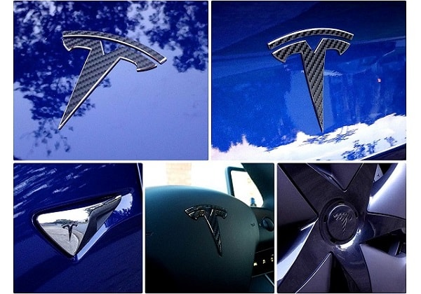 EVWraps Tesla Logo Decal