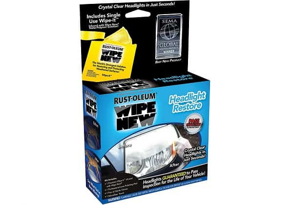 RustOleum Wipe New Headlight