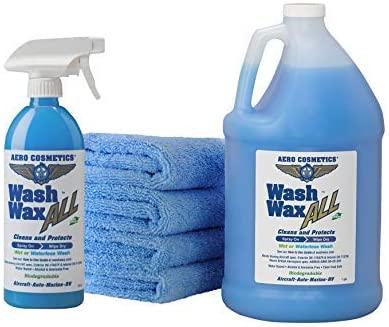 Wash Wax All Waterless Car Wash Wax Kit
