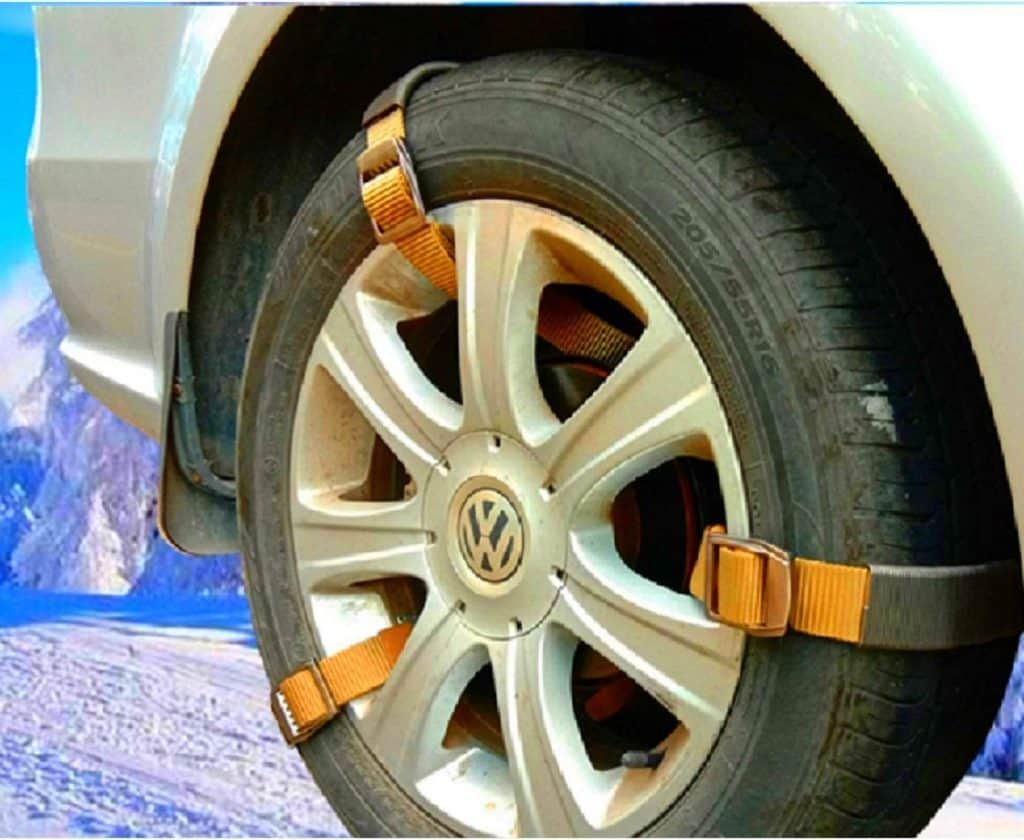 Newest Easy Tire Chains for SUV, Pickup Truck, Van ATV