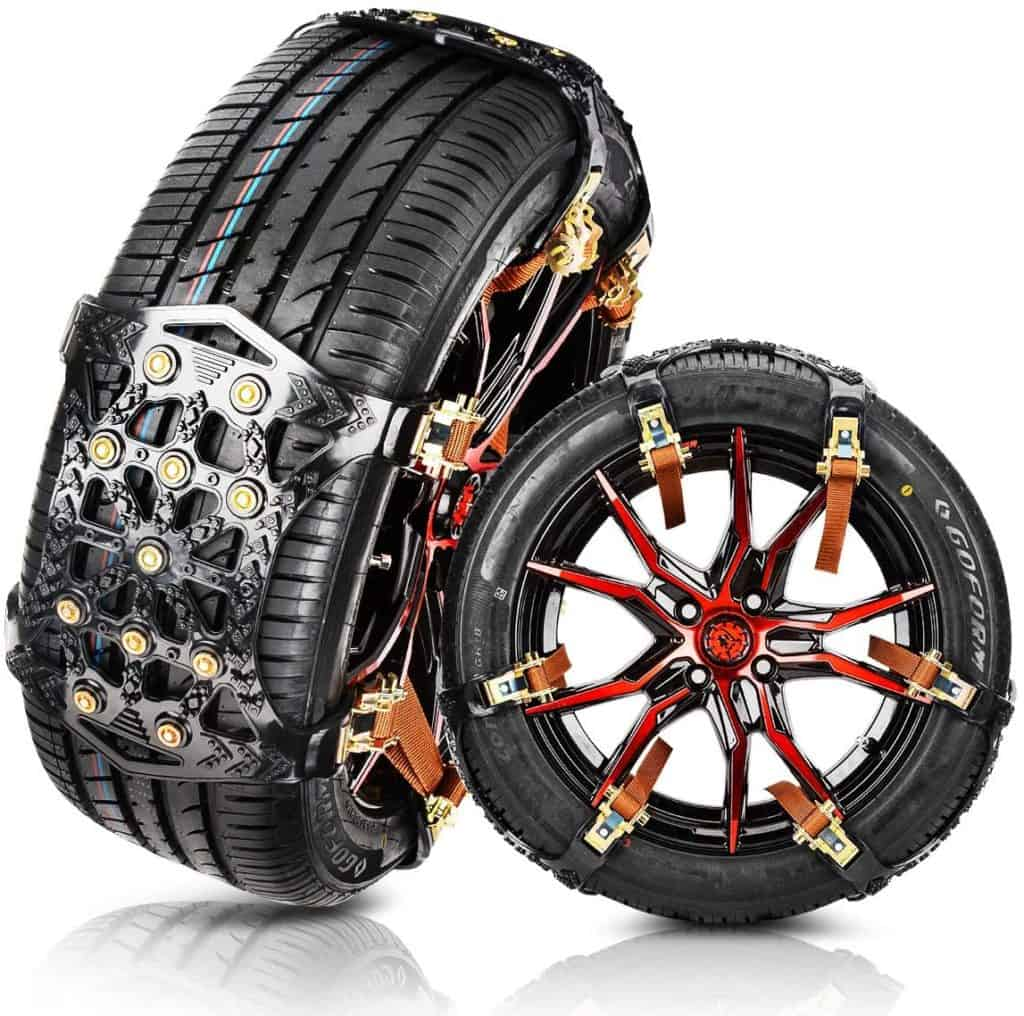 MATCC Anti Slip Tire Snow Chains